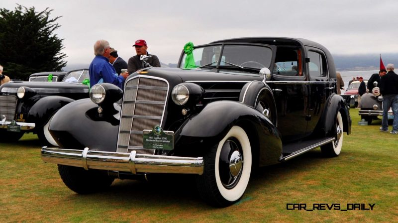 1935 Cadillac 370D Fleetwood V12 Town Cabriolet 9