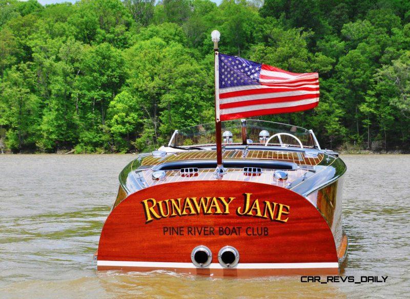 1941 Chris-Craft 27' Runaway Jane Barrel Back 19