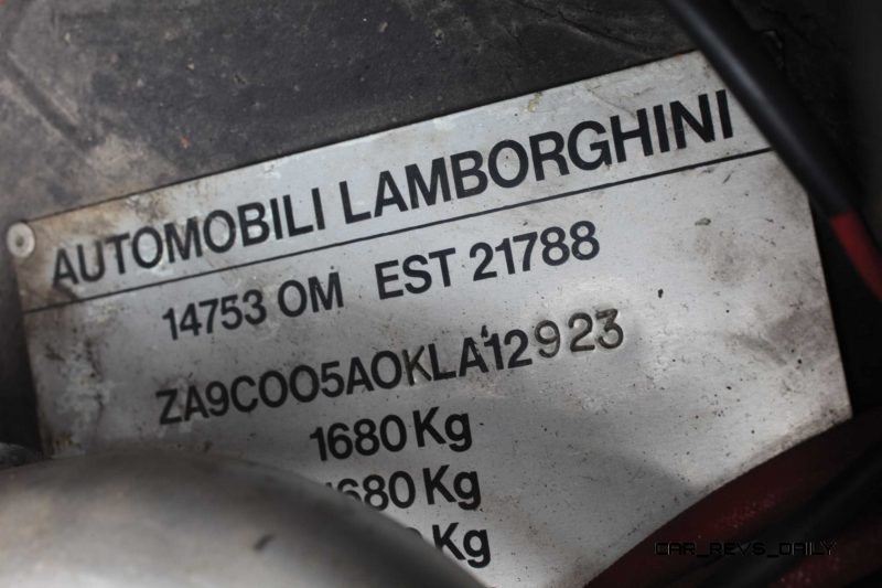 1990 Lamborghini Countach 25th Anniversary Edition 22