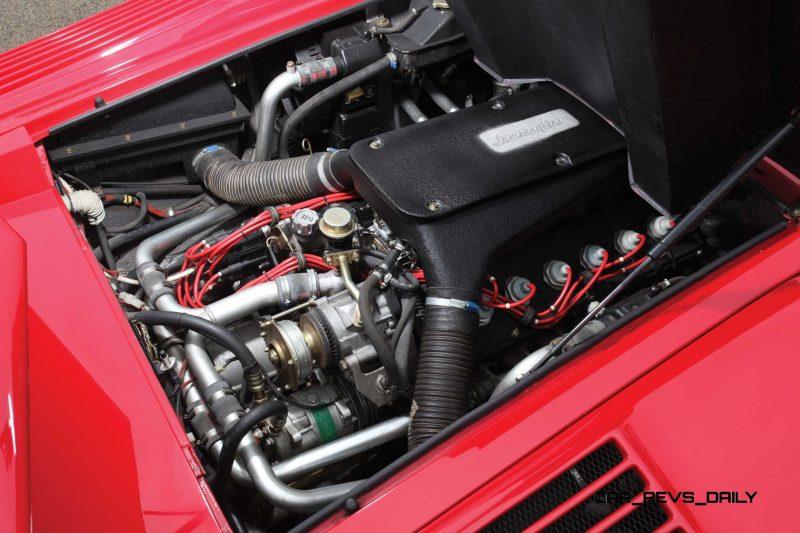 1990 Lamborghini Countach 25th Anniversary Edition 23