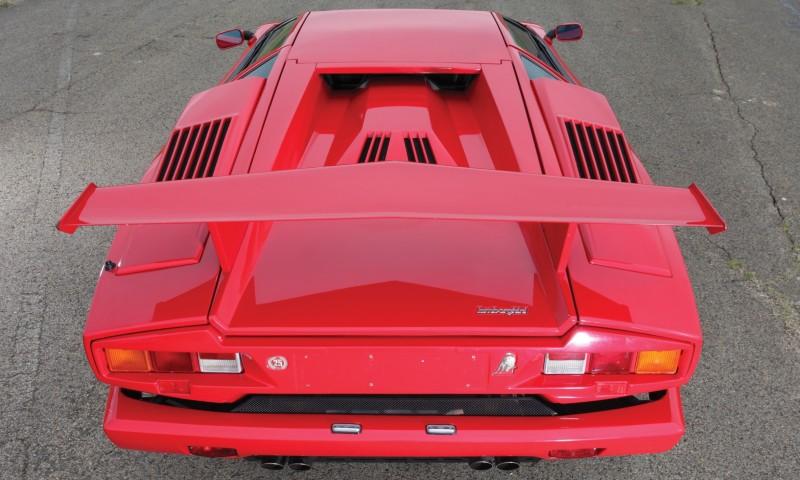 1990 Lamborghini Countach 25th Anniversary Edition 25