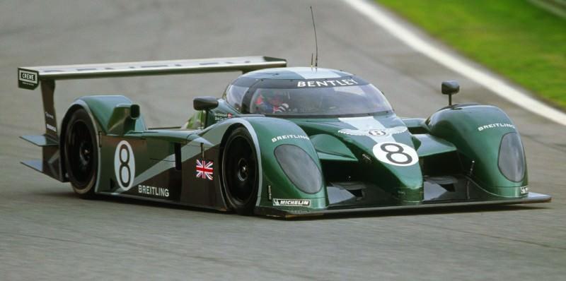 2001 Bentley Speed 8 LMP1 2