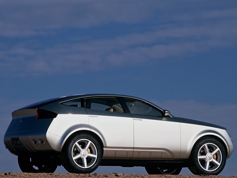 2001 INFINITI FX45 Concept 11