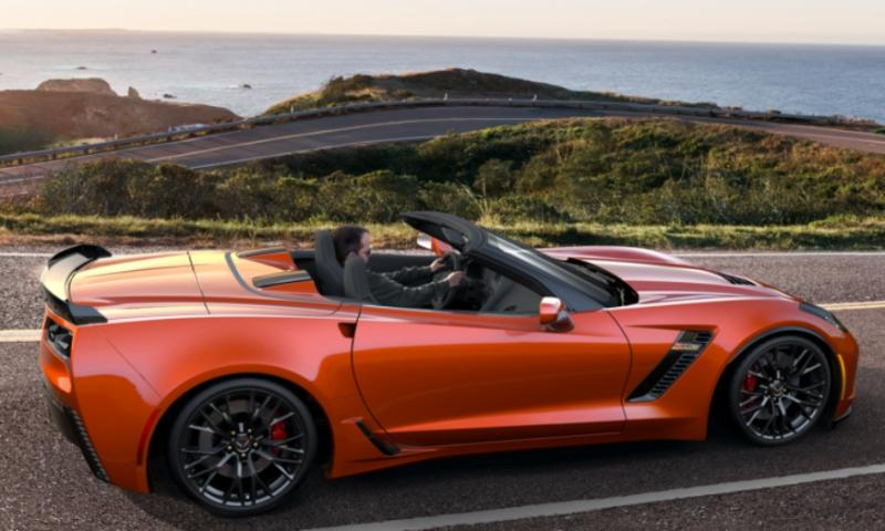 2015 CHevrolet Corvette Z06 Convertible -  Visualizer of All COLORS and WHEELS 4