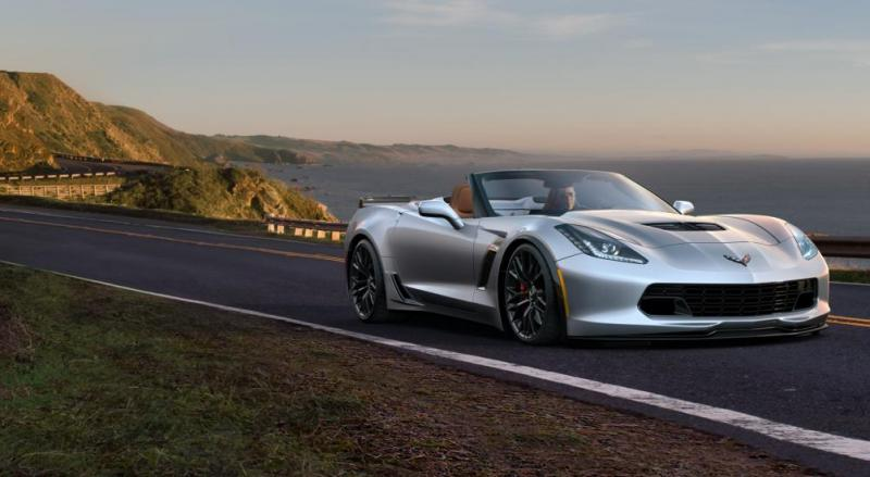 2015 CHevrolet Corvette Z06 Convertible -  Visualizer of All COLORS and WHEELS 40