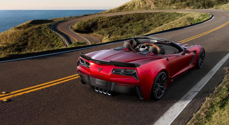 2015 CHevrolet Corvette Z06 Convertible -  Visualizer of All COLORS and WHEELS 46