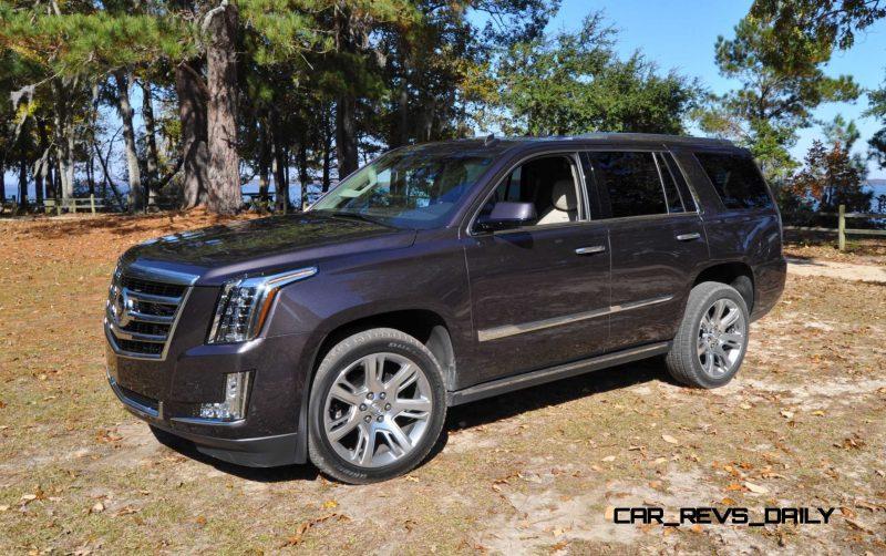 2015 Cadillac Escalade Luxury AWD 16