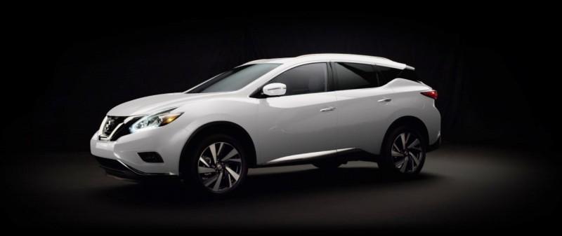 2015 Nissan Murano Pearl White 1