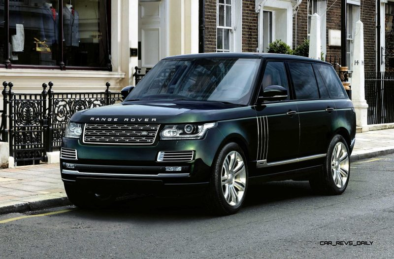 2015 Range Rover Holland & Holland Edition Is Blue-Blooded Delicacy 1