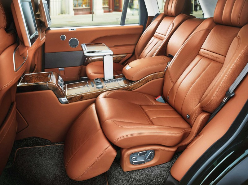 2015 Range Rover Holland & Holland Edition Is Blue-Blooded Delicacy 7
