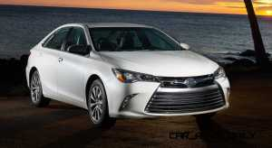Road Test Review  2015 Toyota Camry LE and XLE V6