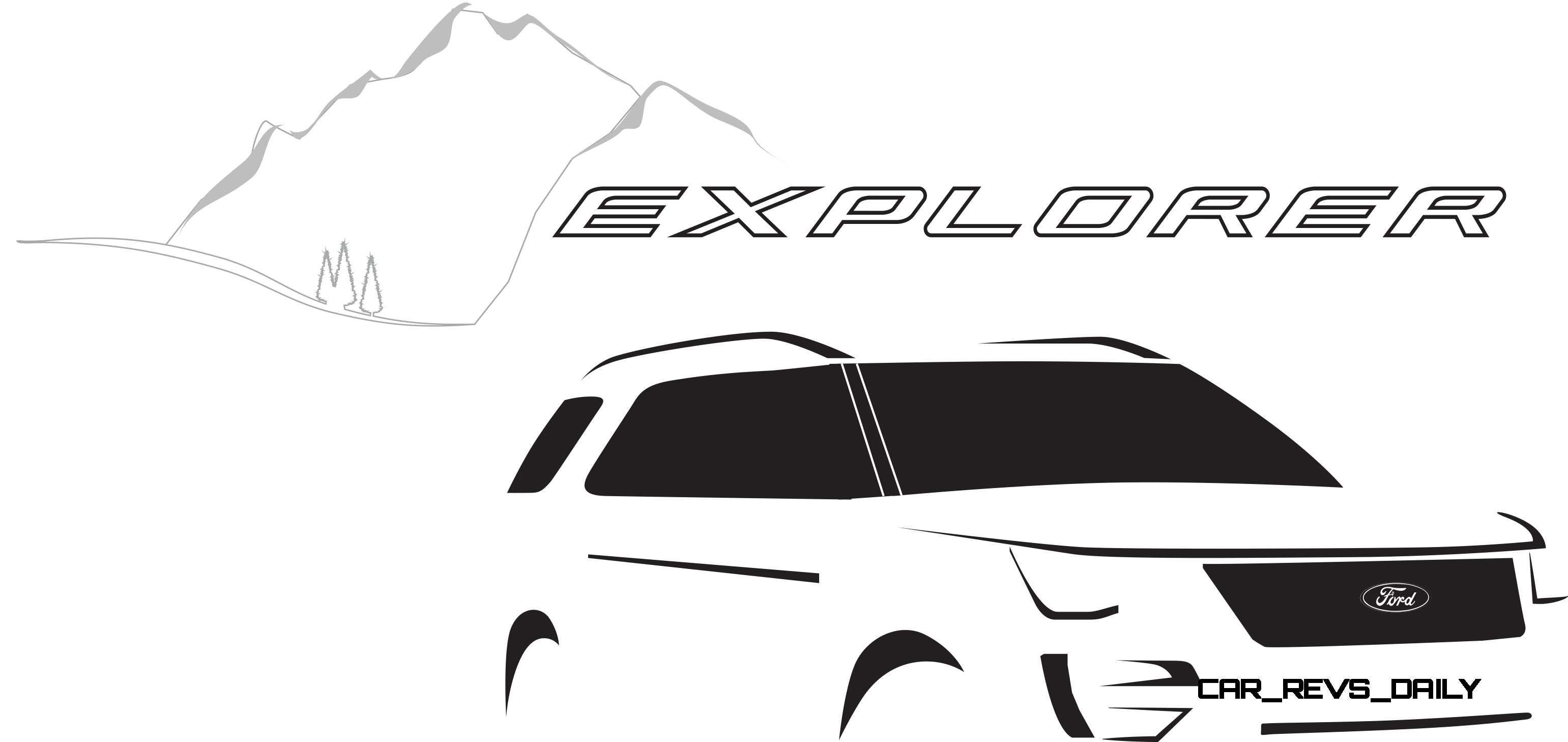 Ford Explorer Revealed With New Engines Fresh