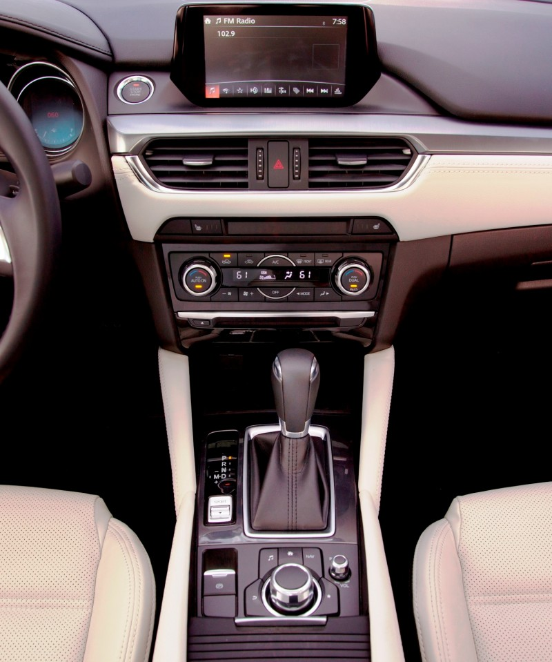 2016 Mazda6 Interior 4