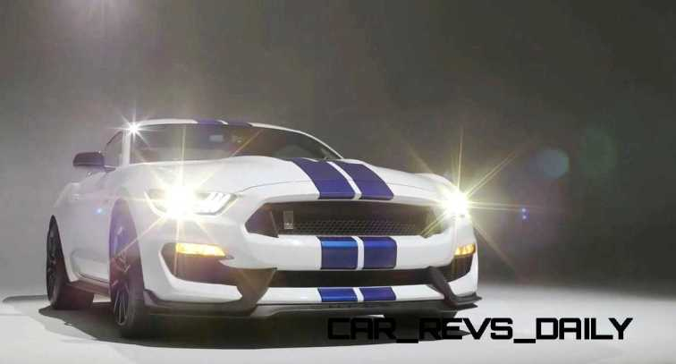 2016 SHELBY GT350 Mustang White 111