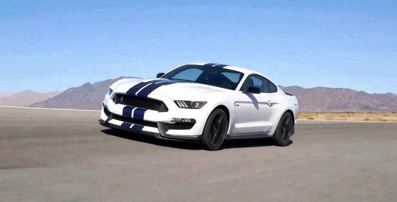 2016 SHELBY GT350 Mustang White 3