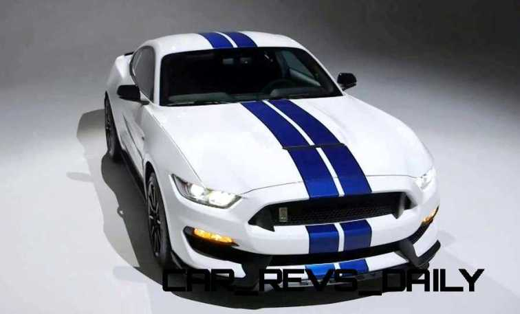 2016 SHELBY GT350 Mustang White 46
