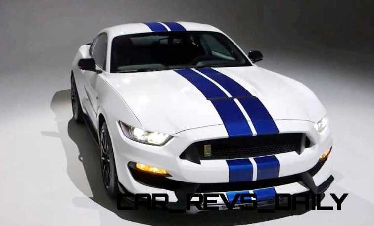 2016 SHELBY GT350 Mustang White 47