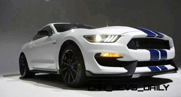 2016 SHELBY GT350 Mustang White 57