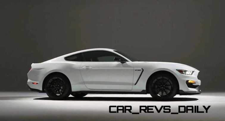 2016 SHELBY GT350 Mustang White 90