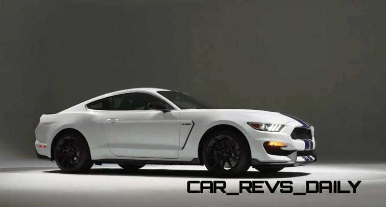 2016 SHELBY GT350 Mustang White 95