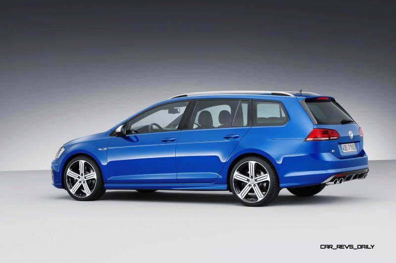 2016 Volkswagen Golf R Sportwagen 12