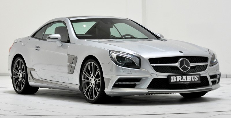 BRABUS Mercedes-Benz SL550 R231 37