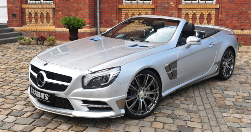 BRABUS Mercedes-Benz SL550 R231 8