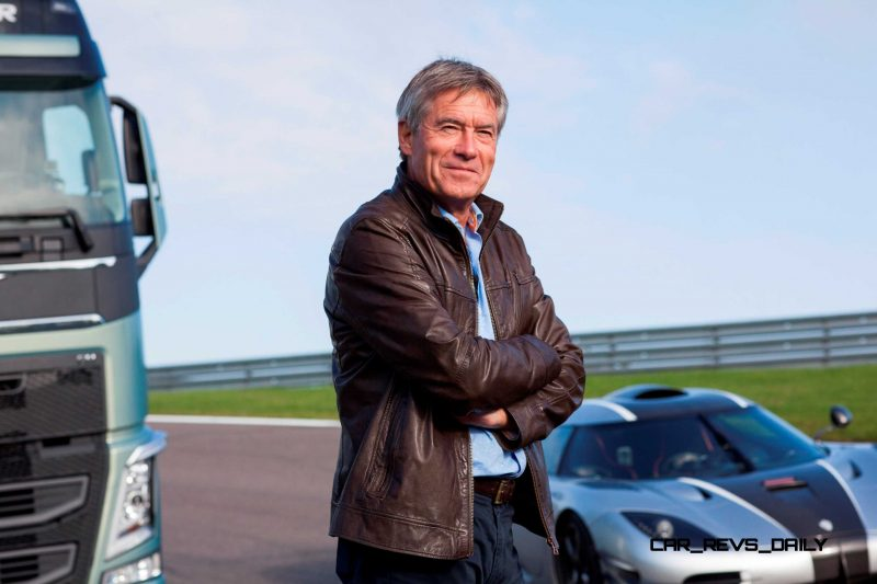 Fifth Gear's Tiff Needell Presents - Volvo FH Truck vs Koenigsegg One1 4