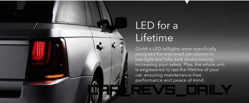 GLOHH RRS LED taillamp 36