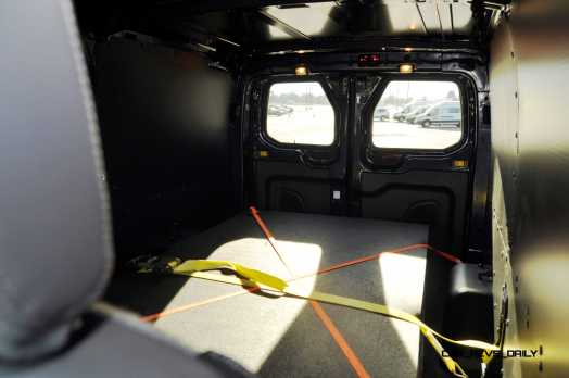 HD Track Drive Review - 2015 Ford Transit PowerStroke Diesel High-Roof, Long-Box Cargo Van 26