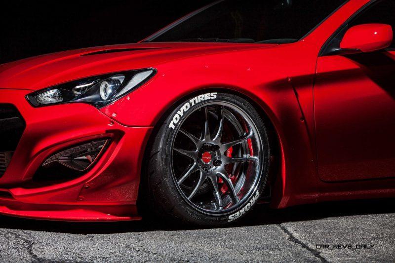 Hyundai Genesis Coupe by BloodType Racing 5