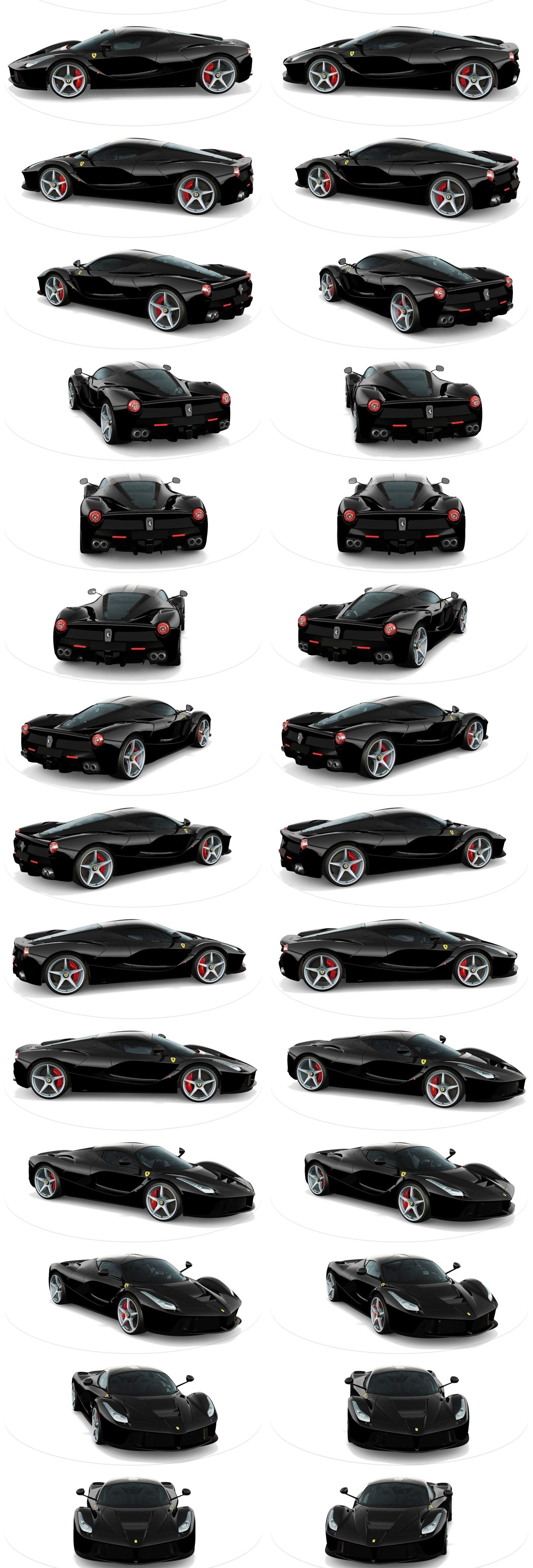 Laferrari Roadster Vs Mclaren P1 Spider 3 Car Revs Daily