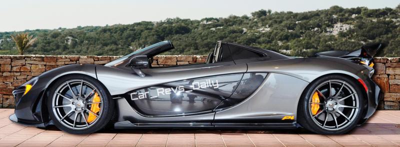 McLaren P1 Spider
