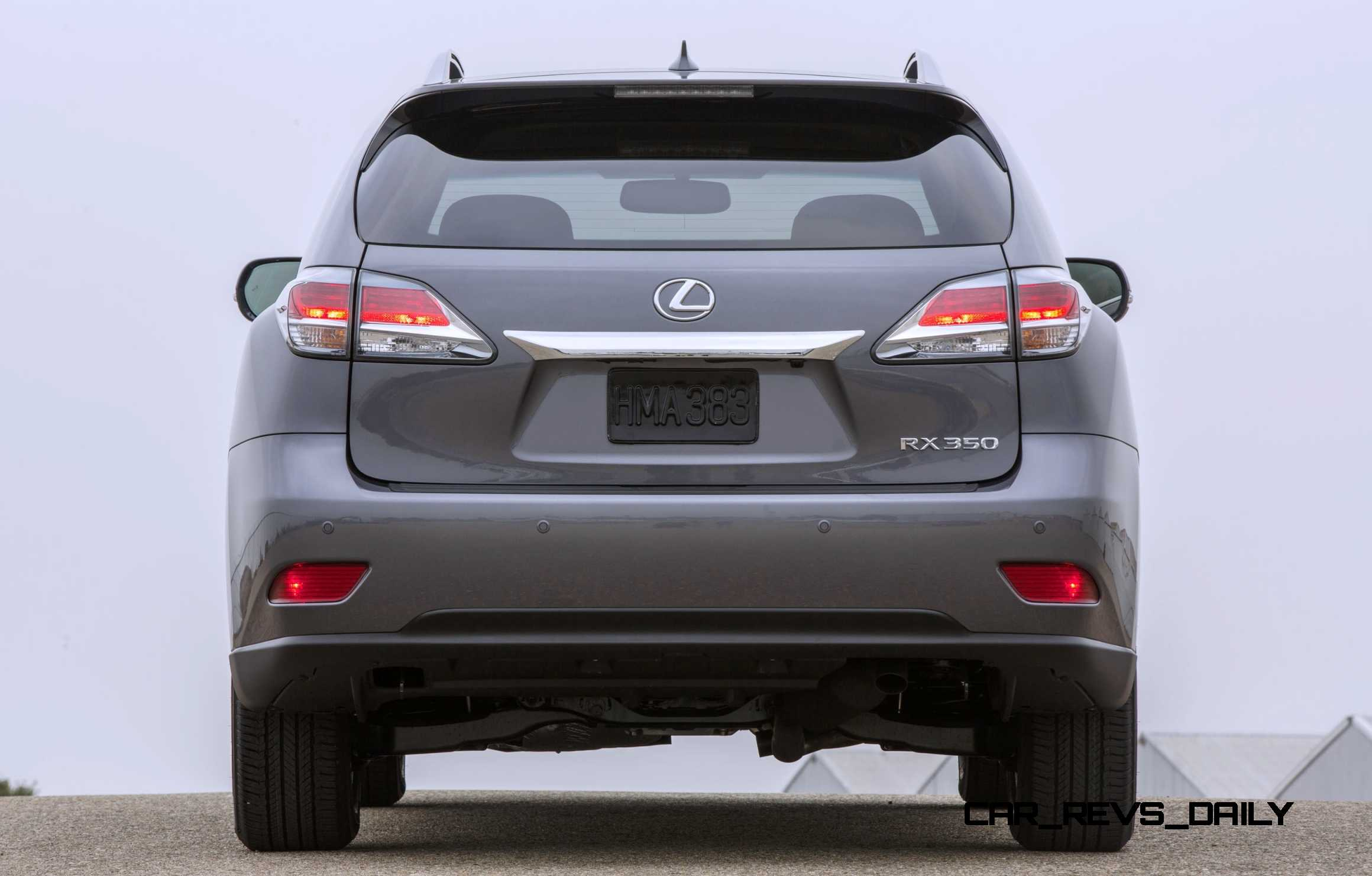 Road Test Review 2015 Lexus RX350 AWD