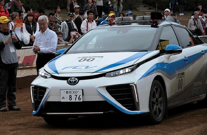 Toyota Mirai Rally Car 10
