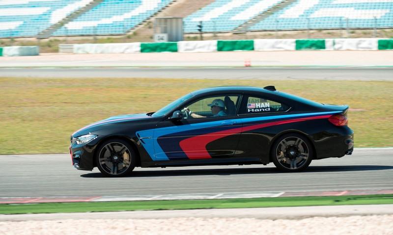 Track Drive Video - 2015 BMW M4 143