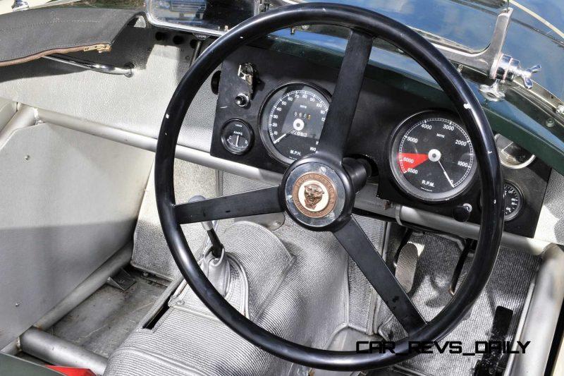 1952 Jaguar C-Type Le Mans Kettle Aerodynamic Recreation 12