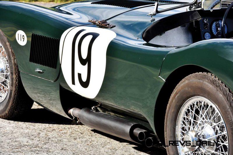 1952 Jaguar C-Type Le Mans Kettle Aerodynamic Recreation 8