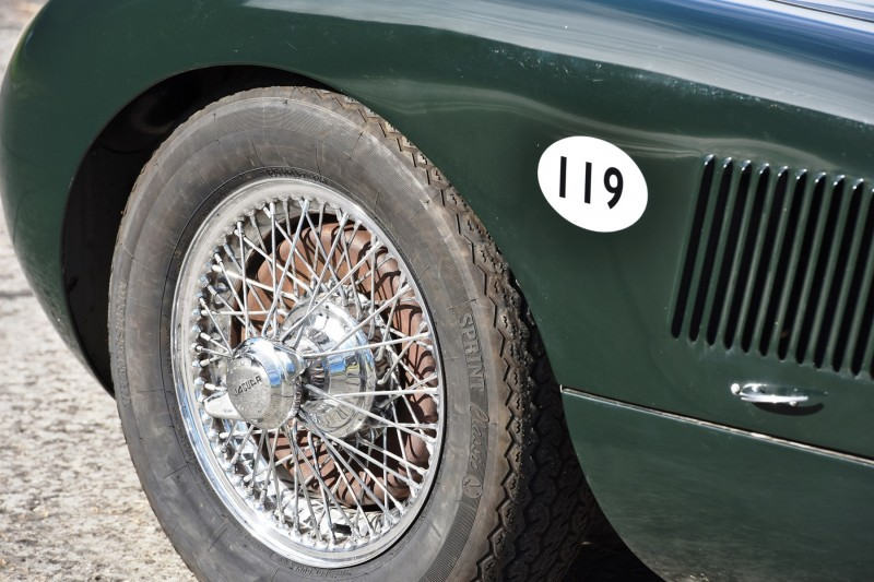 1952 Jaguar C-Type Le Mans Kettle Aerodynamic Recreation 9