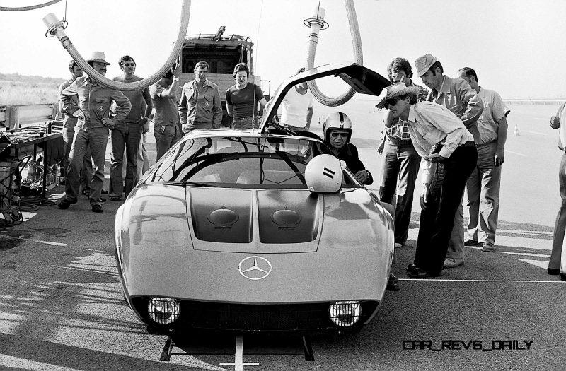 1969 Mercedes-Benz C111 and 1970 C111-II 32