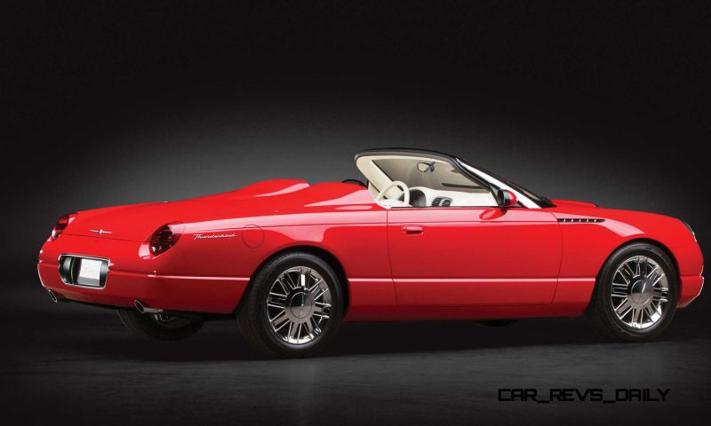 2001 Ford Thunderbird Sports Roadster Concept  12