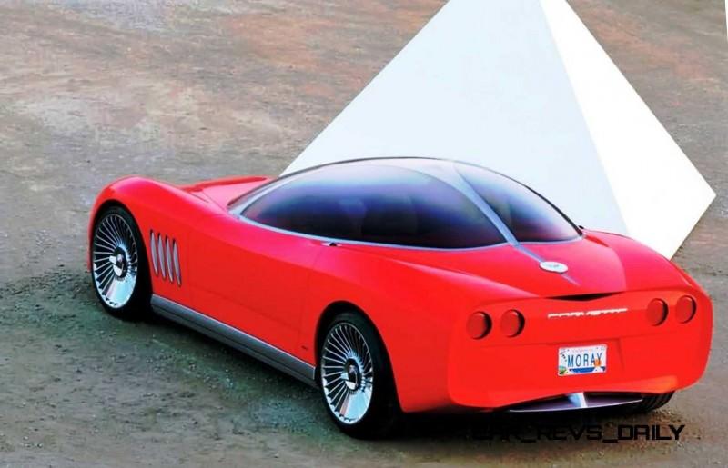 2003 ItalDesign Moray Corvette By Giugiaro 17