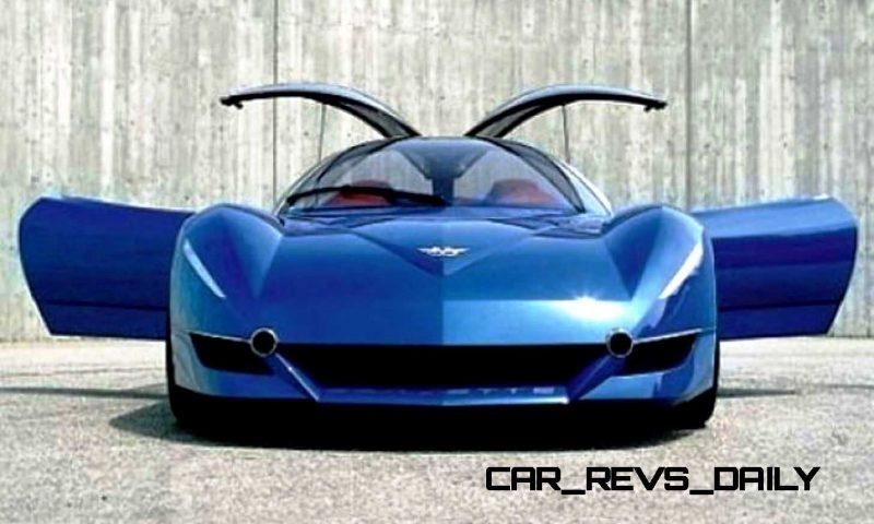 2003 ItalDesign Moray Corvette By Giugiaro 23