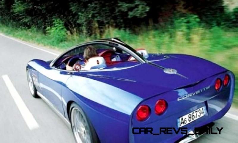 2003 ItalDesign Moray Corvette By Giugiaro 27