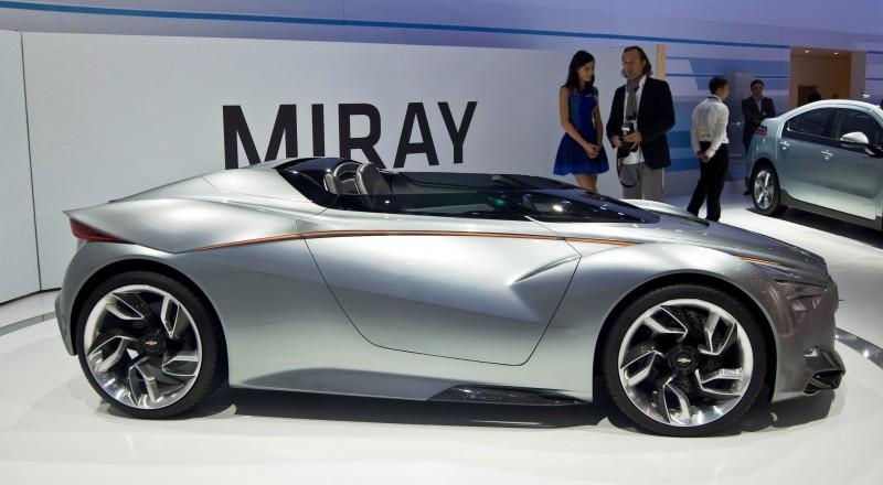 2011 Chevrolet Miray Roadster Concept 36