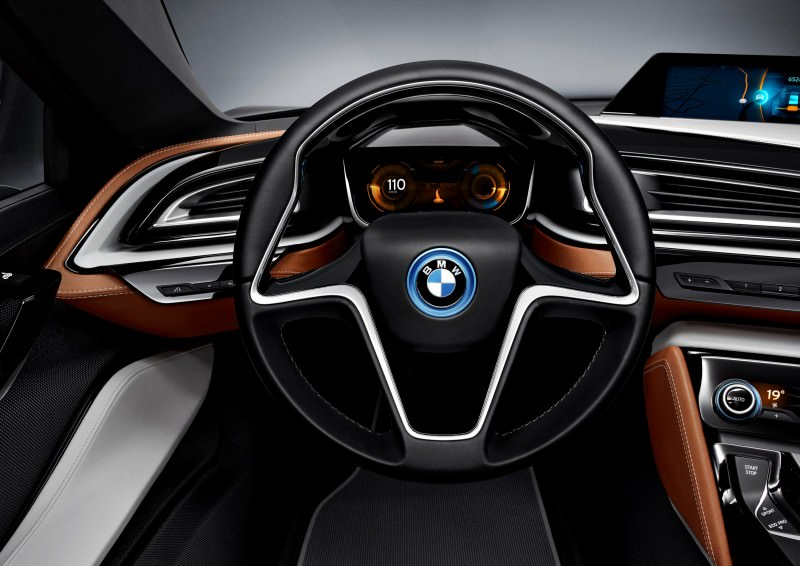 2012 BMW i8 Concept Spyder 18