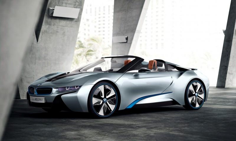 2012 BMW i8 Concept Spyder 31