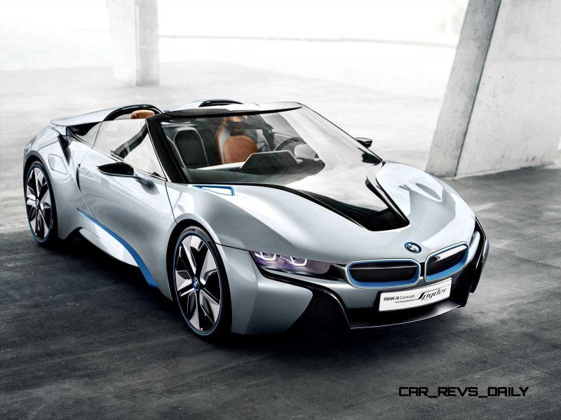 2012 BMW i8 Concept Spyder 32