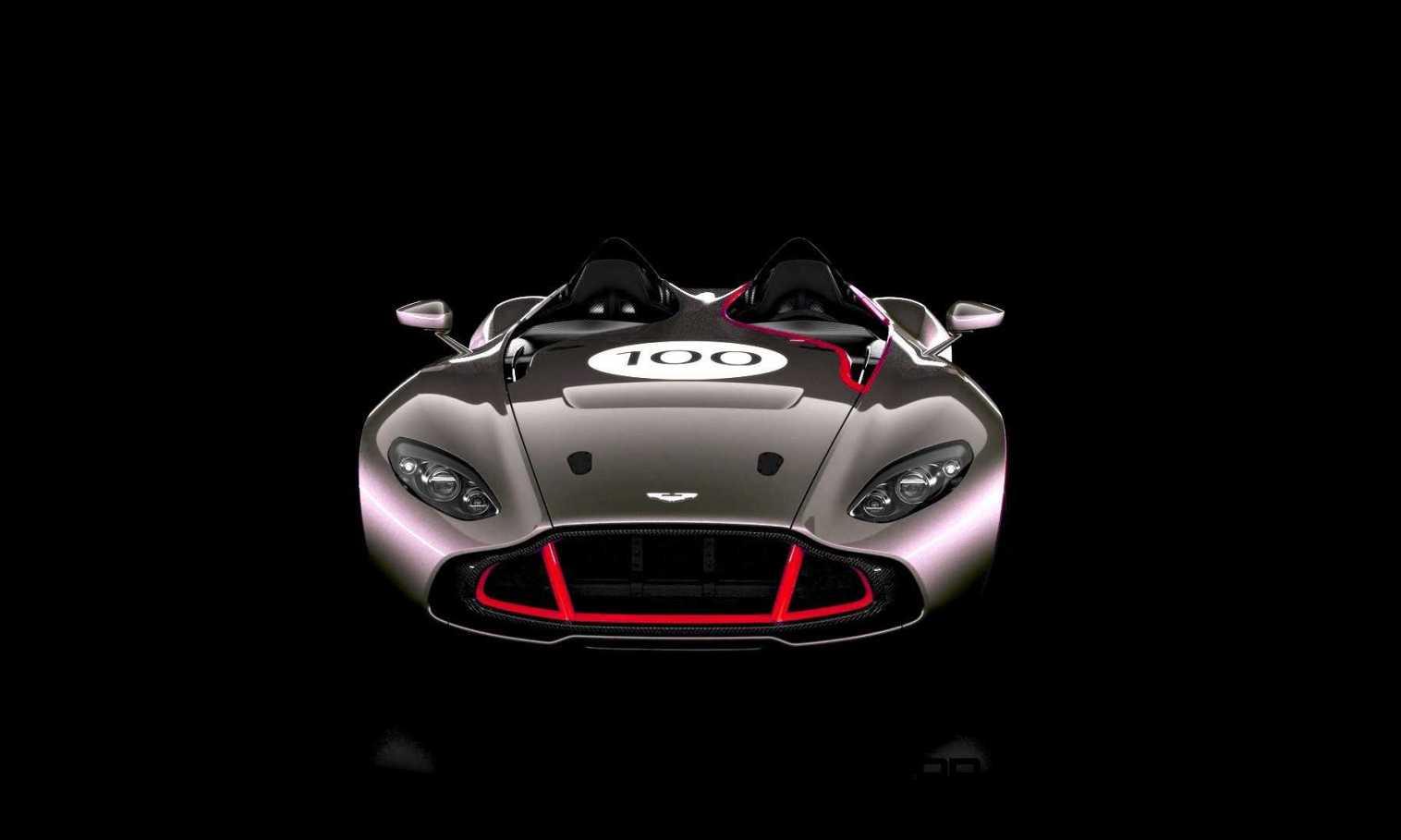 2013 Aston Martin CC100 Speedster COLORIZER red88