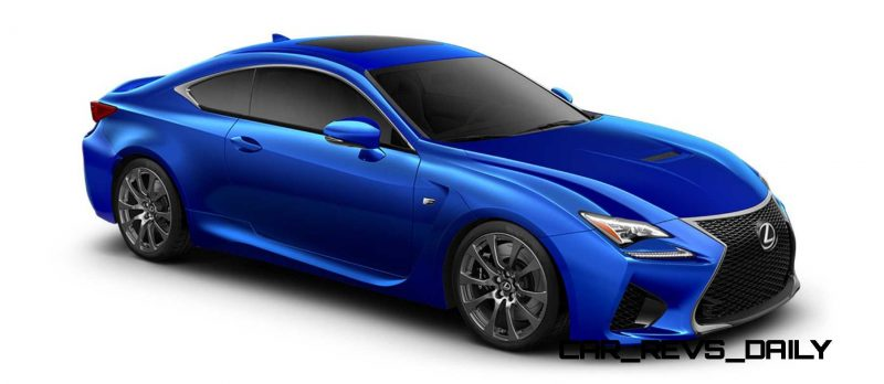 2015 Lexus RC F Colors and Wheels Visualizer 41